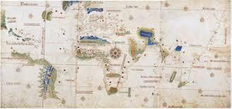 Новое время Википедия Планисфера Кантино драгоценный памятник эпохи Великих географических открытий запечатлевший состояние географических знаний португальцев на рубеже xv и