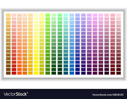 color chart color palette color shade chart
