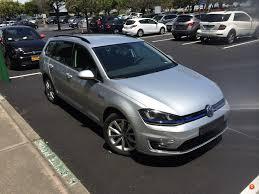 Volkswagen Testing Golf SportWagon Plug-in Hybrid (GTE Variant ...