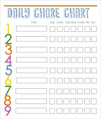 Daily Five Chart Printables Chore Template Sada Margarethaydon Com