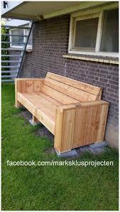 pallet furniture garden. Diy Pallet Garden Bench Furniture