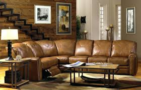 Black Leather Sectional Sofa With Recliner Reclining Leather Sectional Cup Holders 111 Loukas Leather