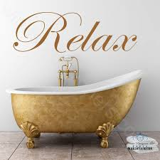 details about relax wall art sticker decor e new bathroom bedroom