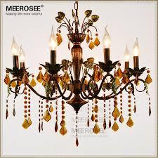 american k9 crystal chandelier green leaves shaped metal chandelier lighting fancy suspension lamp vintage glass hanging
