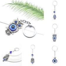 image is loading charm womens turkish blue evil eye pendant key