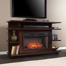 63 granville a espresso ebony stain electric fireplace