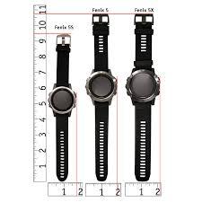 Fenix 5 Watch Size Chart