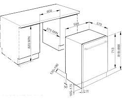 standard dishwasher dimensions.  Dishwasher Dishwasher Sizes Standard Dimensions Australia And E