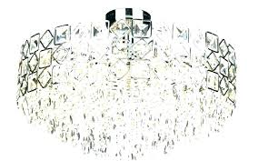 semi flush crystal chandelier contemporary semi flush mount ceiling light large size of lights crystal chandeliers