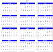 Week Number Calendar Download Adjustable And Printable Excel Calendar Spreadsheets