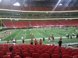 Mercedes Benz Stadium Section 131 Atlanta Falcons