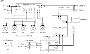 wiring diagram for guitar amp wiring wiring diagrams 100w guitar amplifier mk ii circuit wiring diagrams
