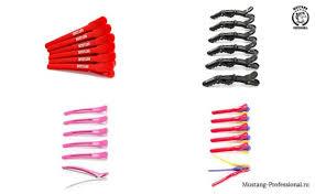 Профессиональные парикмахерские <b>зажимы для волос</b> - какими ...