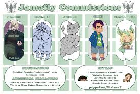 commission sheet 2017 commission sheet by jamafly on deviantart