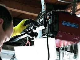 how to reset garage door