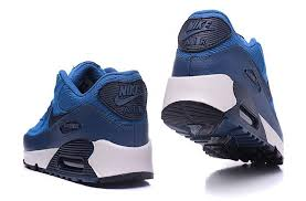 nike air max 90 leather running shoes autumn winter men s women s casual sneaker royal blue 768887 201