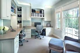 overhead office lighting. Home Office Lighting Ideas Overhead Example Of A Transitional Built In Desk