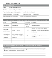 Performance Reviews Samples 15 Performance Evaluation Samples Cover Sheet