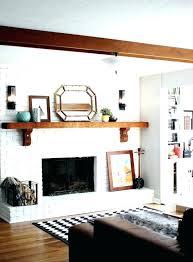 white brick fireplace white brick fireplace mantel shelves for brick fireplaces white brick fireplace with wood mantel install mantel white brick fireplace