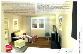 How To Decorate One Bedroom Apartment Mesmerizing Interesting Studio Decoration Decorating Apartments With Ideas