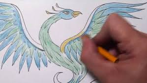 Drawings Of Phoenix Phoenix Bird Drawing At Getdrawings Com Free For Personal Use