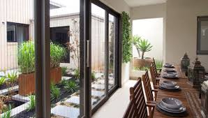 retractable fly screen door available on boutique sliding doors only