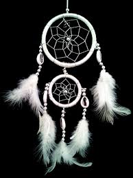 Mini Dream Catcher Lot Beauteous Amazon White Dream Catcher With Feathers Wall Or Car Hanging