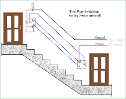 how to connect a 2 way switch