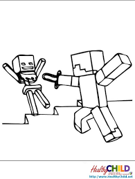 Minecraft Coloring Pages Creeper Minecraft Creeper Coloring Page