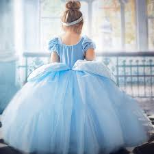 Elsa long Ball Gowns Children Role play Costume <b>Princess</b> ...
