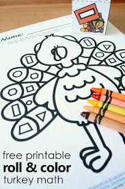 Free Printable Thanksgiving Turkey Shape Matching Activity ...