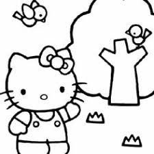 10 Beste Afbeeldingen Van Hello Kitty Kleurplaten In 2017