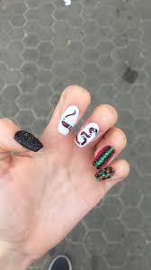 Unas acrilico negras con cino unas acrilicas from bonitaya.com. Gucci Nails Unas Postizas De Gel Manicura De Unas Gucci