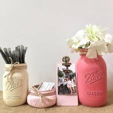 Cute desk organizer Cute Wooden Image Wayfair Mason Jar Desk Accessories For Women Cute Office Decor Mason Etsy