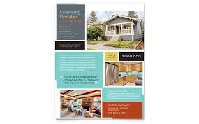 for sale by owner brochure craftsman home flyer template word publisher