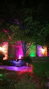Color Changing Landscape Lights Outdoor Lighting Zdc Luxor Color Changing System