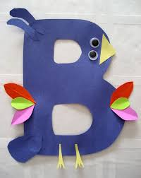 alphapet letter b crafts for preschool