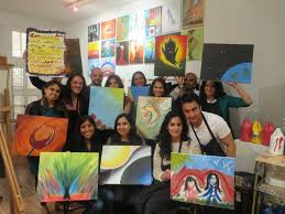 vip paints painting and wine byob painting cl private paint parties