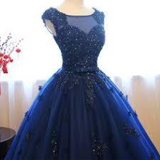 2019 New <b>Navy Blue</b> Prom Dresses, <b>Quinceanera</b> Dresses Ball ...