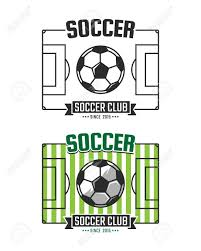 soccer field templates soccer club logo template vector sport emblem football field