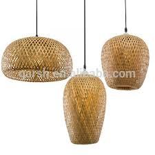 bamboo pendant light. Modern Handmade Rattan Bamboo Pendant Lamp Light W