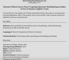 Internship Resume Examples Marketing Internship Resume Objective Examples Sample With No 74