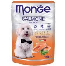 <b>Паучи</b> для собак <b>Monge Dog Grill</b> лосось, упаковка-24шт. купить с ...