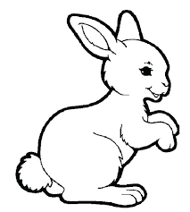 Coloring Pages For Easter Bunny Rokkas