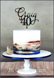 40th Birthday Mens Cake Ideas Design For Men
