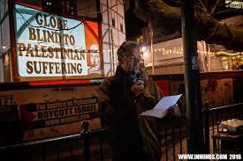 Boycott Israel News London Protest Urges Shakespeare S Globe
