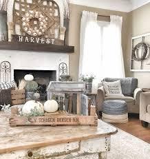 living room decor rustic farm house