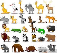 Poster Set van leuke dieren • Pixers® - We leven om te veranderen