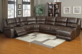 Is nicole reclining sectional sofa double recliner bonded leather