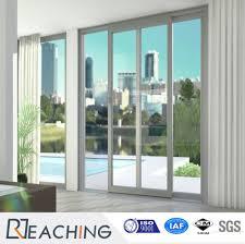 manufacturer upvc pvc plastic door sliding folding glass doors